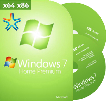 Windows 7 Home Premium сборка x64 x86