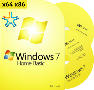 Сборка rus windows 7 SP1 home basic x64 x86