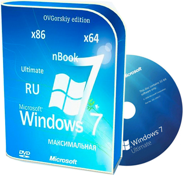 Windows 7 nbook ultimate ovgorskiy x64 x86 RU SP1 2017